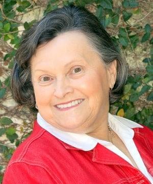 Jean's smiling portrait after dental treatment
