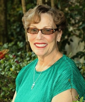 Dr. Strickland made her a new upper denture and placed implants on the lower and gave her permanent teeth on the lower.