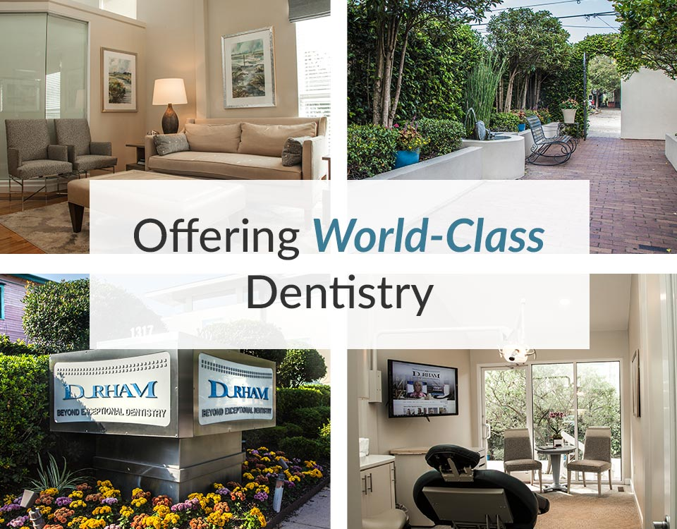 Collage of the office of Beyond Exceptional Dentistry
